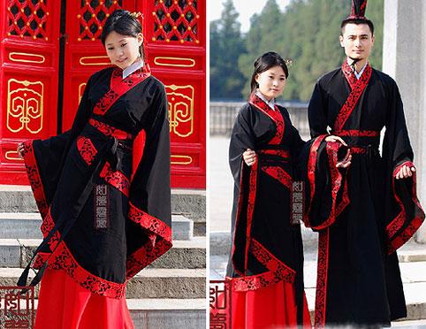Hanfu masculino y femenino