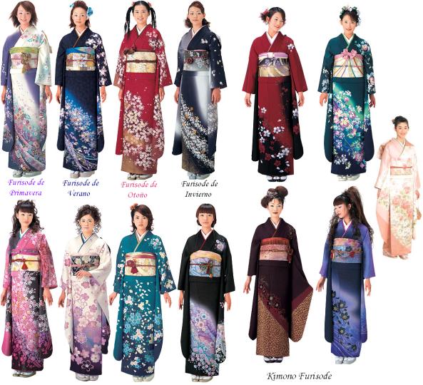Kimonos de femeninos