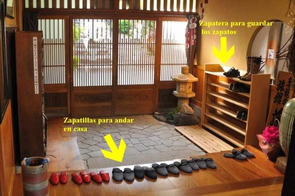 Quitarse-los-zapatos-en-un-ryokan